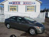 2008 Honda Civic DX-G A/C!! CRUISE!! PW PL ALLOYS!! 5 SPD GAS SA