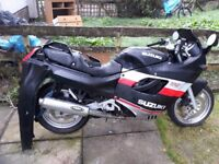 FOR SALE SUZUKI GSX 750 F 1989