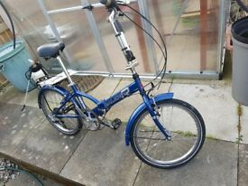 Raleigh Parkway 6 Speed Folding Bicycle