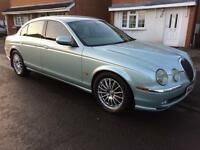 JAGUAR S-TYPE V6 SE AUTO 4 DOOR SALOON 2002 MOT