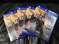 BRAND NEW SEALED BATTLEFIELD 1 PS4 PLAYSTATION