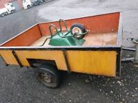 Solid Car 7x5 Trailer for Hire , Rent