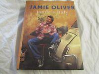Brilliant AUTOGRAPHED Jamie Oliver Jamie's Italy hardback Cook Book