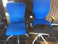 Office adjustable chairs