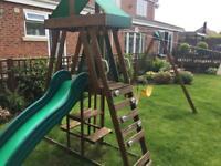 SOLD Children swing & slide