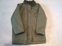 Ladies William Evans green tweed shooting jacket