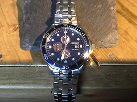 Citizen ecodrive chronograph date