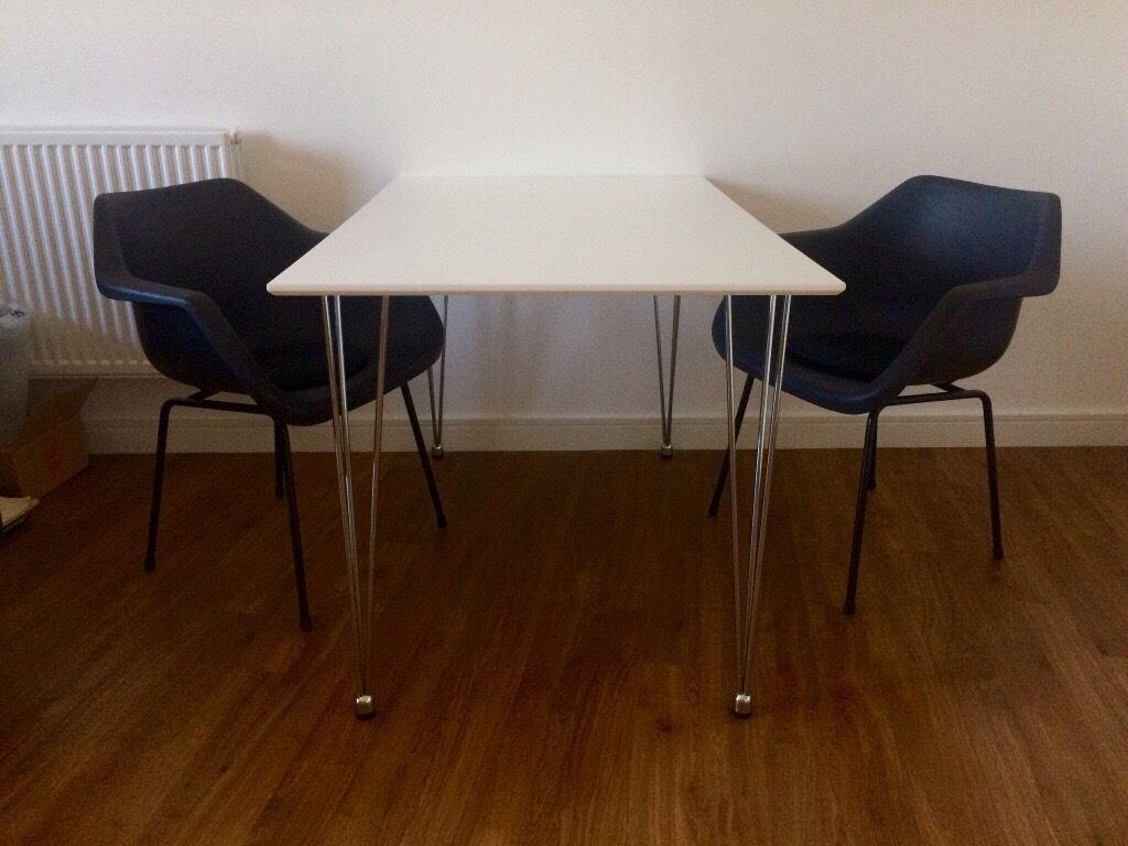 John Lewis Jasper White Dining Table
