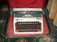 typewriter in working order