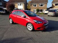 VAUXHALL CORSA STING 1.4 ECOFLEX 2017 (AS NEW, 155 DELIVERY MILES)