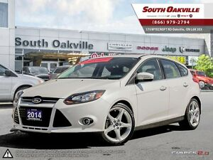 2014 Ford Focus Titanium | HEATED LEATHER | NAVIGATION | SUNROOF