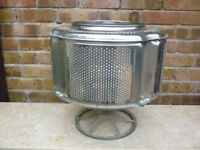 Steel Fire Pit with Aluminium Stand, Up-Cycled Washer Drum