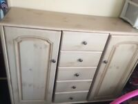 Wooden cupboard unit