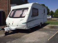 2006 Abbey 470 Expression 2 berth Caravan with end washroom caravan and motor mover.