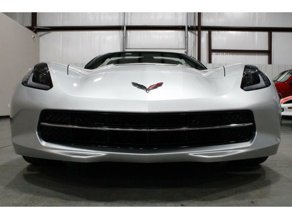 2017 Silver Chevrolet Corvette Stingray 1LT | C7 Corvette Photo 8