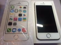 Apple - iPhone 5s - Gold - Vodafone - 16GB - Smartphone - Box And Charger - New Headphones