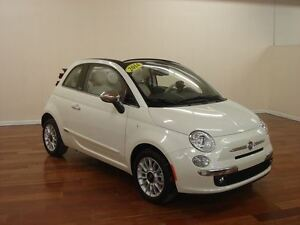 2014 Fiat 500C Lounge CONVERTIBLE CUIR BLUETOOTH 104$/2SEM+TX
