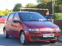 Fiat Punto 1.2 8v Active 5dr£699 p/x welcome LONG MOT,LOW TAX & INSURANCE