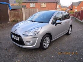 very nice unmarked citroen c3 1.4 diesel vtr hdi 2010 10 plate 62000 miles 4 service stamps