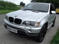 53 PLATE BMW X5 3.0D SPORT AUTO FSH FULL NAPPA ELEC MEMORY LEATHER MAY TAKE PART EX