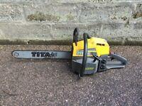 McCulloch Titan 57 Petrol Chainsaw