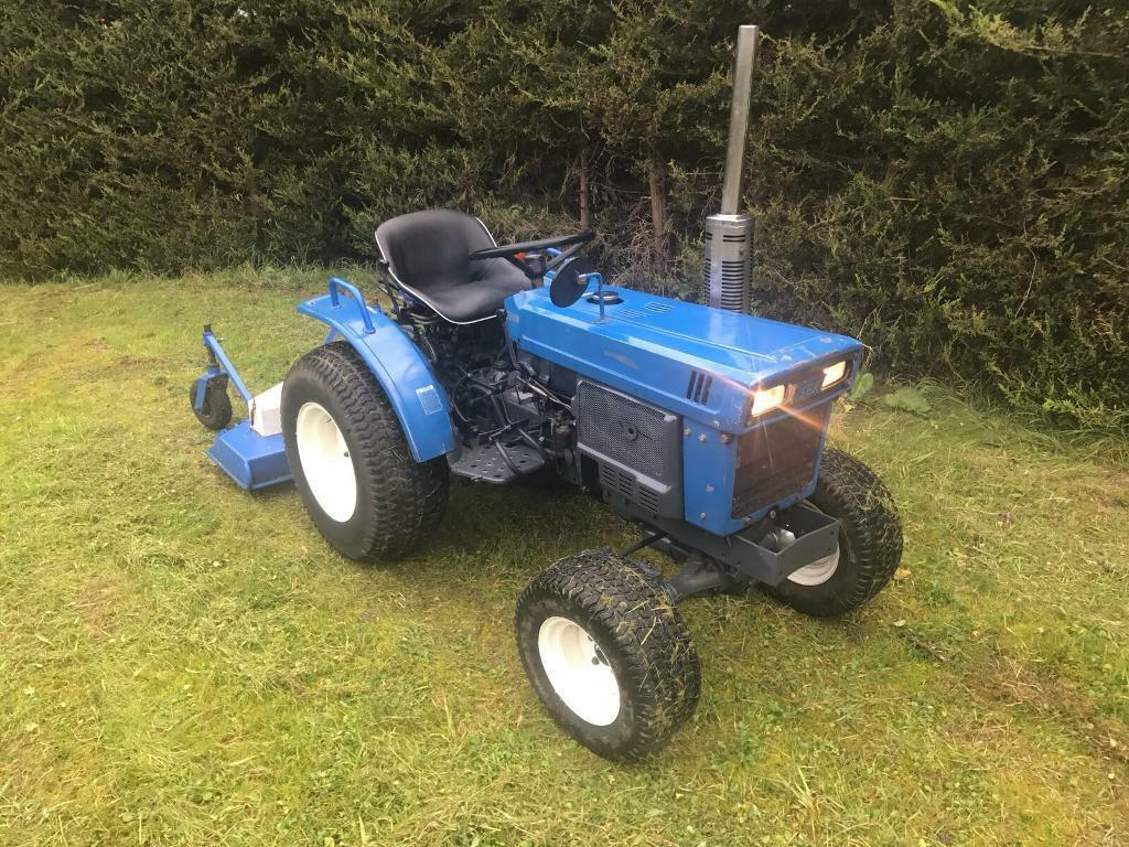 Iseki Compact Tractor with Topper