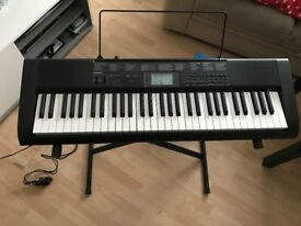 Casio CTK-1150 Keyboard & Stand