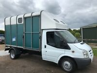 Ford transit 115t350 2011 lwb ifor Williams horse box