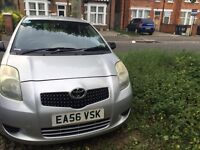TOYOTA YARIS 2006 , ORIGINAL MILEAGE , PERFECT CONDITION , 1 LITE PETROL ,