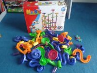 Marble Run Race Set Building Blocks Construction Toy Game Marbles Track 70pcs