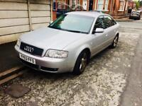 2003 AUDI A6 SE AUTO CVT 2.4 1OWNER LOW MILEAGE £1895