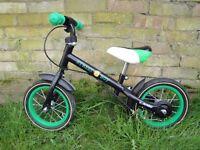 "12"" Avigo Easy Rider Balance Bike in Black"
