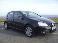 VOLKSWAGEN GOLF GT TSI 170,5DR,1.4 TURBO AND SUPERCHARGED,56 PLATE,2 OWNERS,ONLY 65K WITH FMDSH.