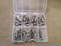 Collection of small metal soldiers (great for an older kid)