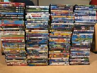 Job lot of kids dvds Disney animated etc 150 DVD collection