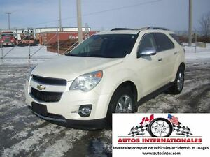 2015 Chevrolet Equinox LTZ 4X4 4CYL FULL CAMERA DE RECUL SROOF M
