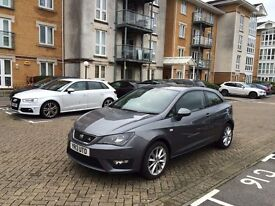 2013 SEAT IBIZA FR BLACK 1.6 TDI GREY CAT D FULL SERVICE HIST 22,000 MILES ONLY EXCELLENT CONDITION