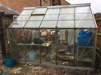 Greenhouse 10 x 8 Eden Blockley type
