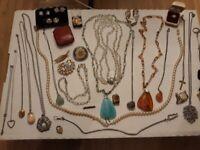 Costume jewellery - various