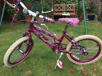 "Raleigh Krush 14"" Girl's Bike"