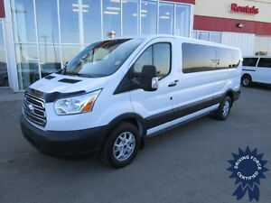 2015 Ford Transit T-350 XLT Low Roof 12 Passenger Van w/B/Up Cam