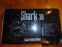 Grauvell Shark 30 Multiplier Lever Drag Deep Sea Fishing Reel