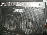 100w Fender Rumble Comcoi
