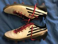 Size 9 f50 adidas football boots