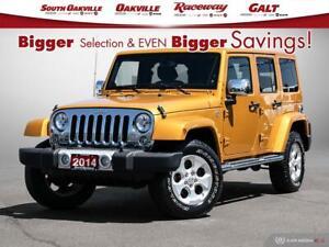 2014 Jeep Wrangler Unlimited Sahara Btooth Hardtop HTD Seats NAV