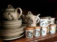 Portmeirion botanical tableware