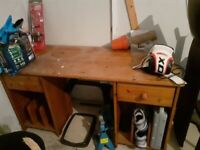 Soild wood desk