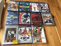 Eleven play station 2 games