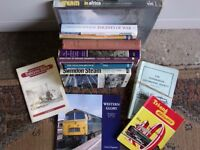 SELECTION OF 12 GOOD QUALITY RAILWAY BOOKS