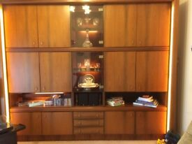 Wall display unit - superb condition